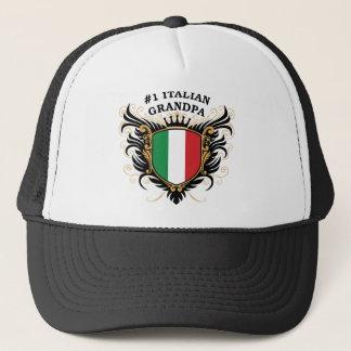 Number One Italian Grandpa Trucker Hat