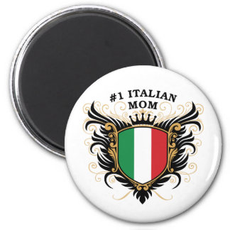 Number One Italian Mom Magnet