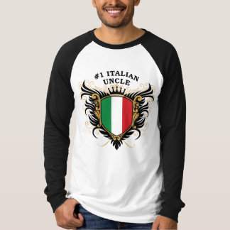 Number One Italian Uncle Tee Shirt