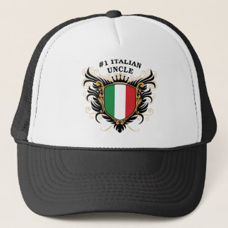 Number One Italian Uncle Trucker Hat