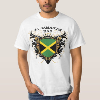Number One Jamaican Dad T-Shirt
