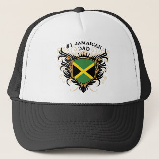 Number One Jamaican Dad Trucker Hat