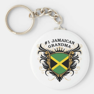 Number One Jamaican Grandma Keychain