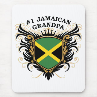Number One Jamaican Grandpa Mouse Pad