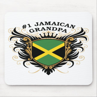 Number One Jamaican Grandpa Mousepads