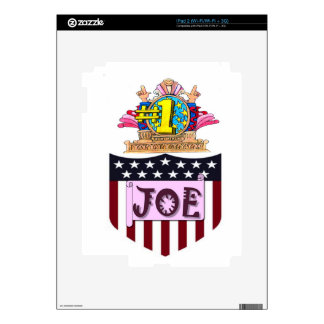 Number One Joe Skin For iPad 2