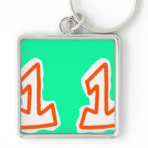number one key chain