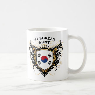 Number One Korean Aunt Coffee Mug