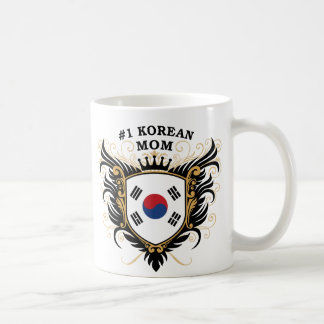Number One Korean Mom Coffee Mug