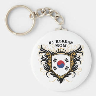 Number One Korean Mom Keychain