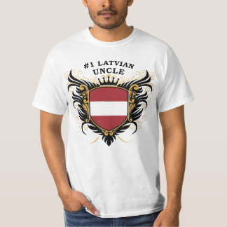 Number One Latvian Uncle Tee Shirt