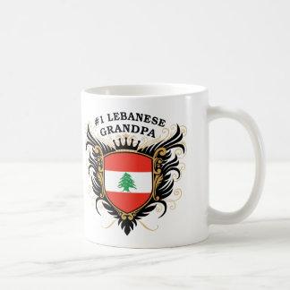 Number One Lebanese Grandpa Coffee Mug