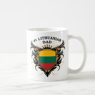 Number One Lithuanian Dad Coffee Mugs