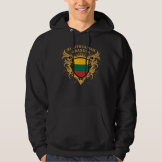 Number One Lithuanian Grandpa Hooded Pullover