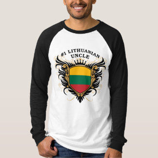 Number One Lithuanian Uncle T-Shirt