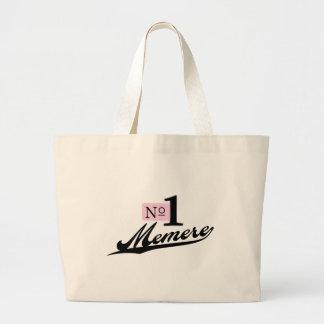 Number One Memere Jumbo Tote Bag