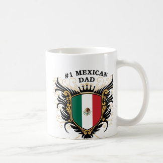 Number One Mexican Dad Coffee Mugs