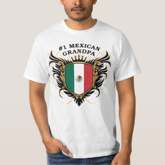 Number One Mexican Grandpa Tee Shirt