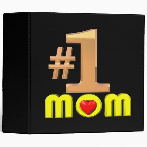 Number One Mom Binders