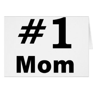 Number One Mom Cards