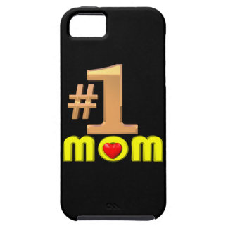 Number One Mom iPhone 5 Case