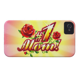 Number One Mom iPhone 4 Case