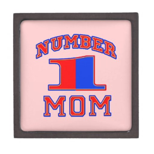 Number One Mom: Mother's Day Gift Boxes Premium Gift Box