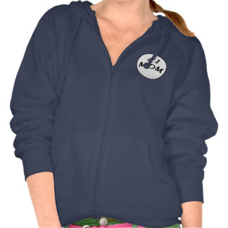 Number One Mom with Golf Ball Sweatshirt