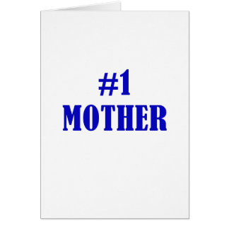 Number One Mother Card