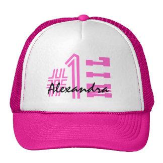 Number One Mother-In-Law Custom Name V8BZ Trucker Hat
