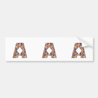 NUMBER ONE n GRADE A Motivational GIFTS for KIDS Car Bumper Sticker