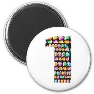 NUMBER ONE n GRADE A Motivational GIFTS for KIDS Fridge Magnet