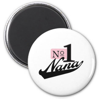 Number One Nana 2 Inch Round Magnet
