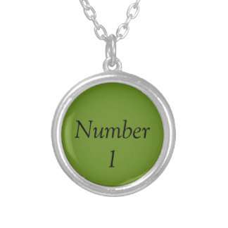 Number One Necklace - A.Green