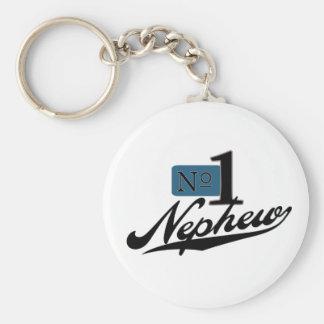 Number One Nephew Keychain