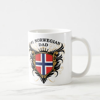 Number One Norwegian Dad Coffee Mug