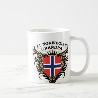 Number One Norwegian Grandpa Coffee Mug