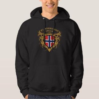 Number One Norwegian Uncle Hoodie
