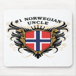 Number One Norwegian Uncle Mouse Pads