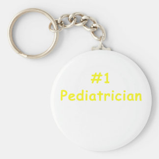 Number One Pediatrician Keychain