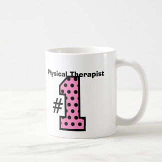Number One PHYSICAL THERAPIST Pattern Number Coffee Mug