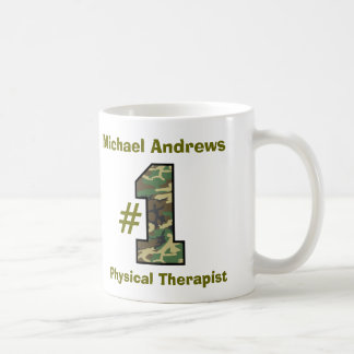 Number One Physical Therapist V5q Classic White Coffee Mug