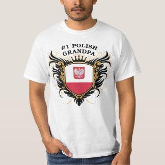 Number One Polish Grandpa Shirt