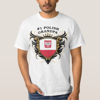 Number One Polish Grandpa T-Shirt