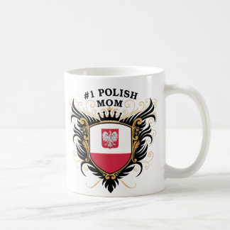 Number One Polish Mom Coffee Mug