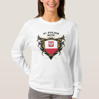 Number One Polish Mom T-Shirt