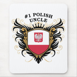 Number One Polish Uncle Mouse Pad
