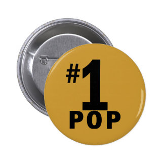 Number One Pop Products Buttons