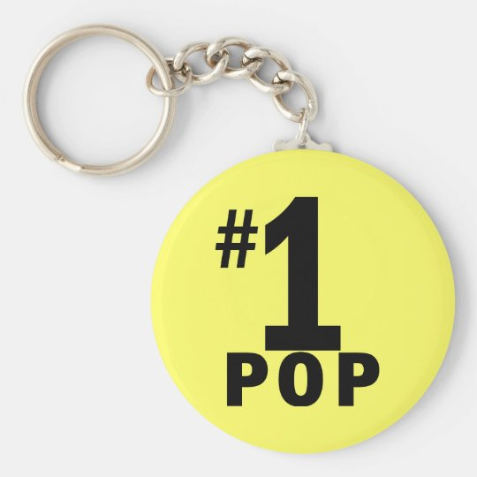 Number One Pop Products Keychain