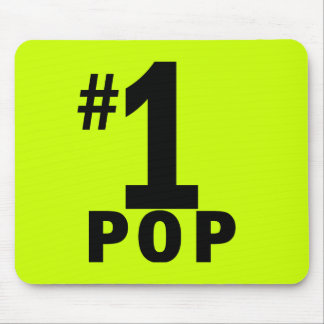 Number One Pop Products Mouse Pad